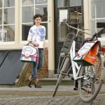 Shopper en enkele fietstas