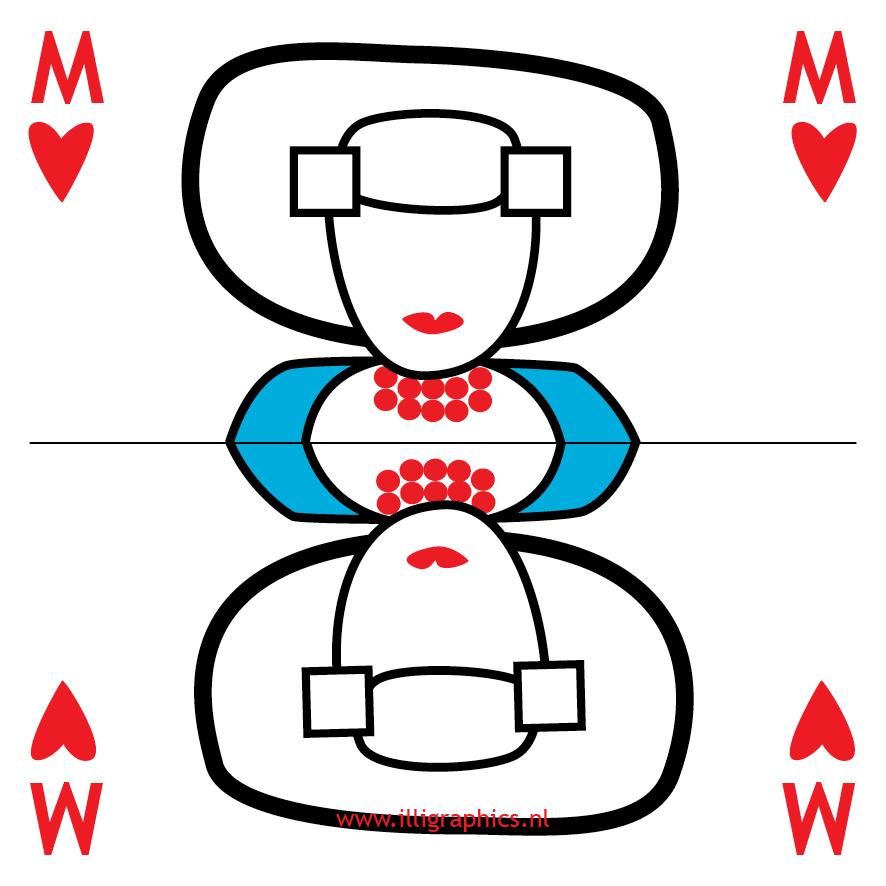 Speelkaart Missje Missje iL