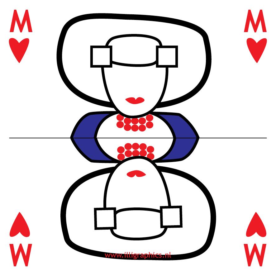 Speelkaart Missje Missje Li