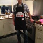 een tevreden klant in de keuken!