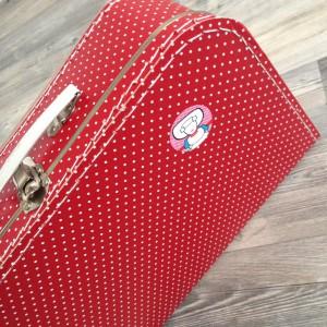 Aagjes koffer staat klaar
