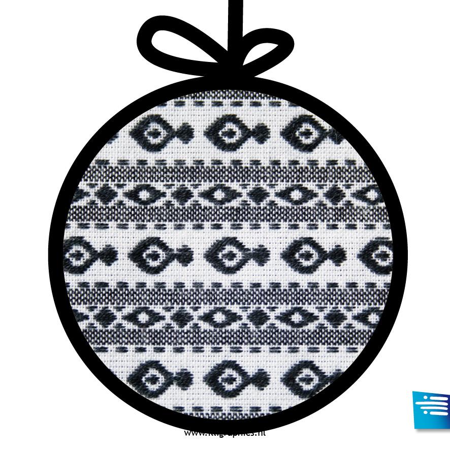 Kerstbal vis