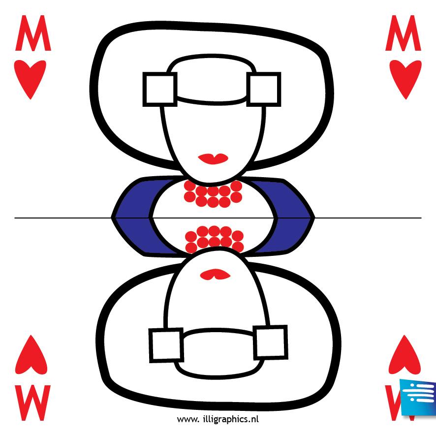 Speelkaart M/MDB