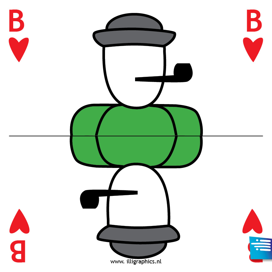 Speelkaart B/B
